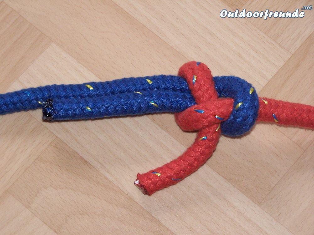 Bild Schotstek - Version zur Verbindung zweier gleich starker Seile