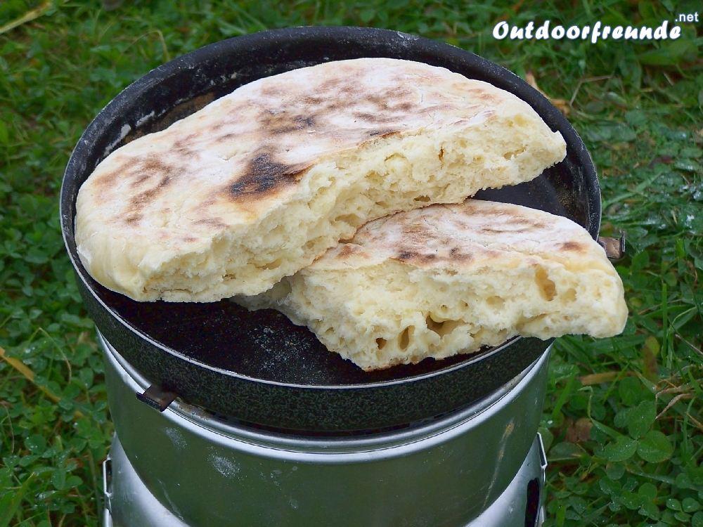 Bild Bannock Rezept - Das Outdoor Brot schnell selbst gemacht - Anleitung für Bannok mit Fotos