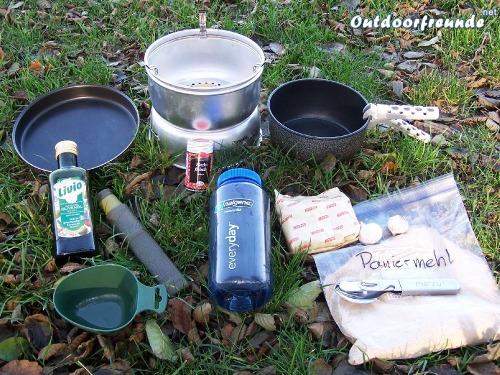 Outdoor Rezept - Soja Frikadellen - Schritt 1